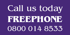 Call us today FREEPHONE 0800 014 8533